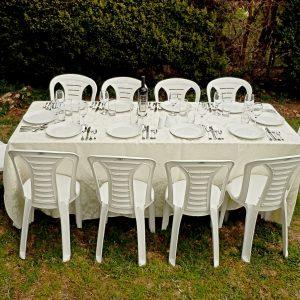 דוכס - שולחן מלבני 10 אנשים