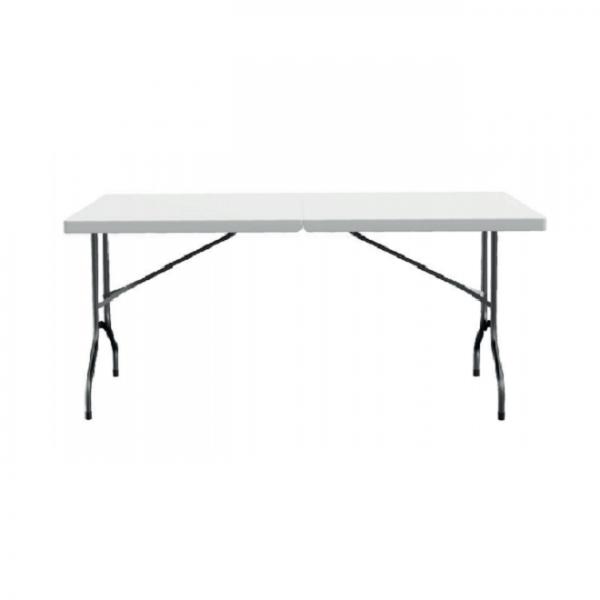דוכס - שולחן פלסטיק מלבן