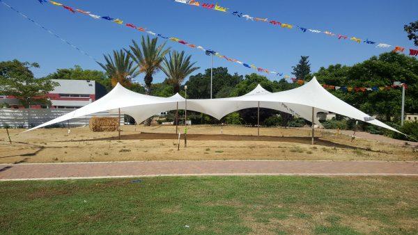 השכרת אוהל לייקרה לבן