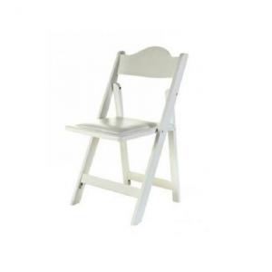 דוכס - כסא עץ לבן